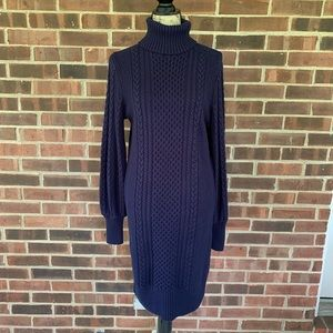 NWT Gap cable knit long sleeve sweater dress